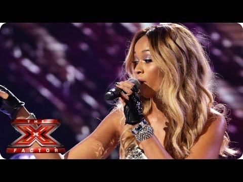 Tamera Foster sings Diamonds Are Forever by Shirley Bassey - Live Week 6 - The X Factor 2013