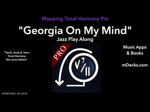 Georgia On My Mind play-along #3 Music Education Video