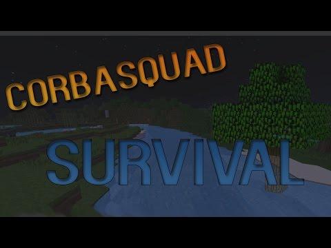 """Automatic Wheat Farm Preparation "" CorbaSquad Survival Minecraft Survival"