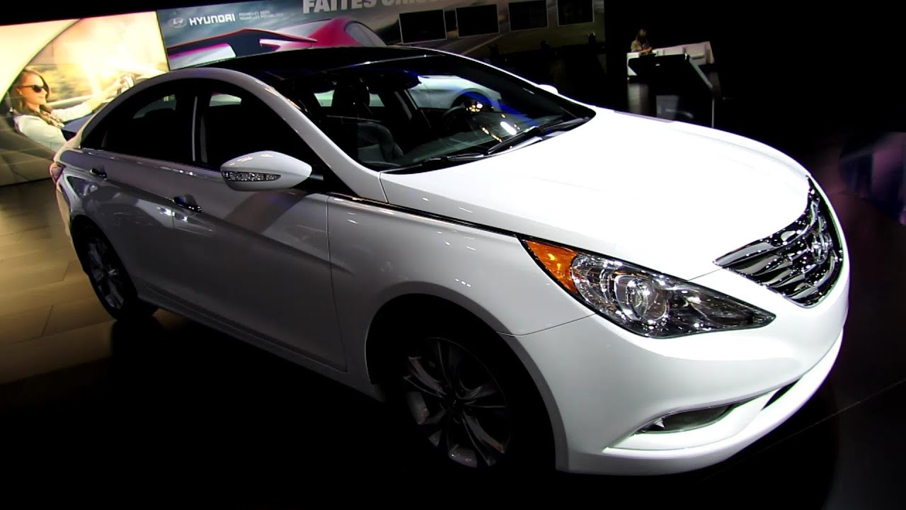 hyundai sonata 2013. 2013 hyundai sonata limited exterior and interior walkaround montreal auto show youtube d
