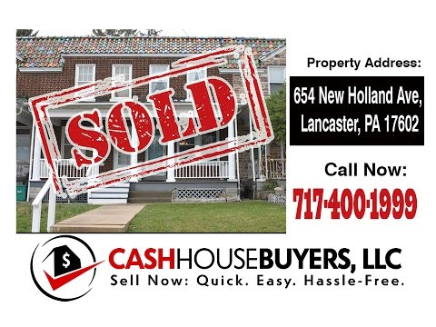 TESTIMONIAL We Buy Houses Lancaster PA   CALL 717 400 1999   Sell Your House Fast Lancaster PA
