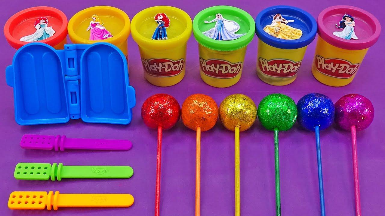 Download Satisfying Video l How To Make Playdoh Rainbow Ice Cream Cutting ASMR #79 Bon Bon