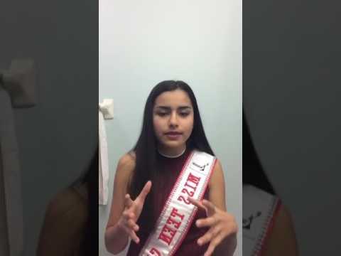 Arianna Laya- Garcia, Miss Teen Canada Globe 2016/17- Live (Part 1)