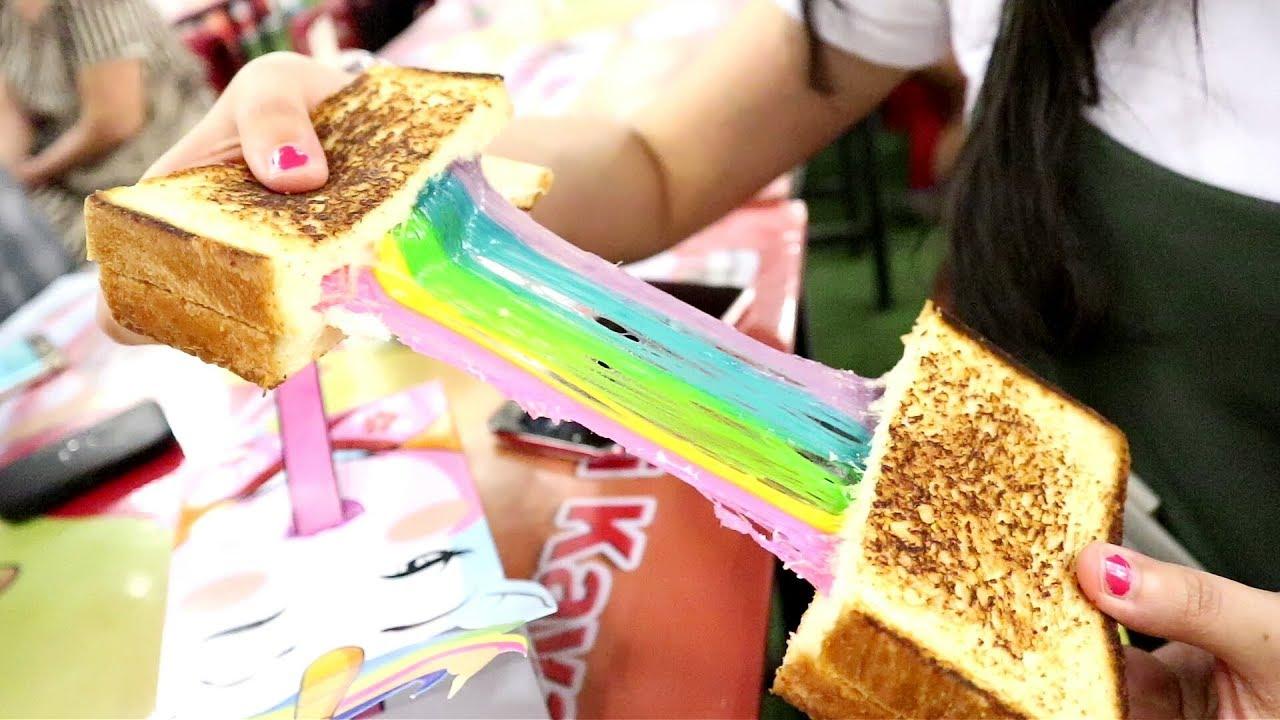 Roti Panggang Rainbow Mozarella Youtube