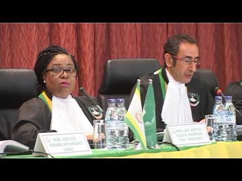 Judgment Of Wilfred Onyango and Others V Republic Of Tanzania - Part One