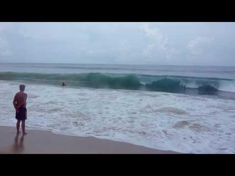 Waves at Karon beach