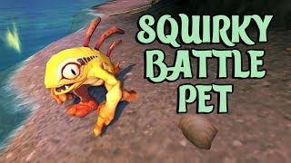 World of Warcraft where to find Squirky battle pet