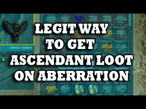 Ark : How to get awesome ascendant loot the legit way using a ravager