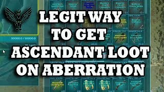 Ark : How to get awesome ascendant loot the legit way using a ravager.
