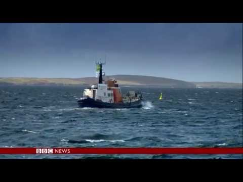 Marine energy in Orkney Islands (BBC World News, 02/06/2016, 06:00 BST)