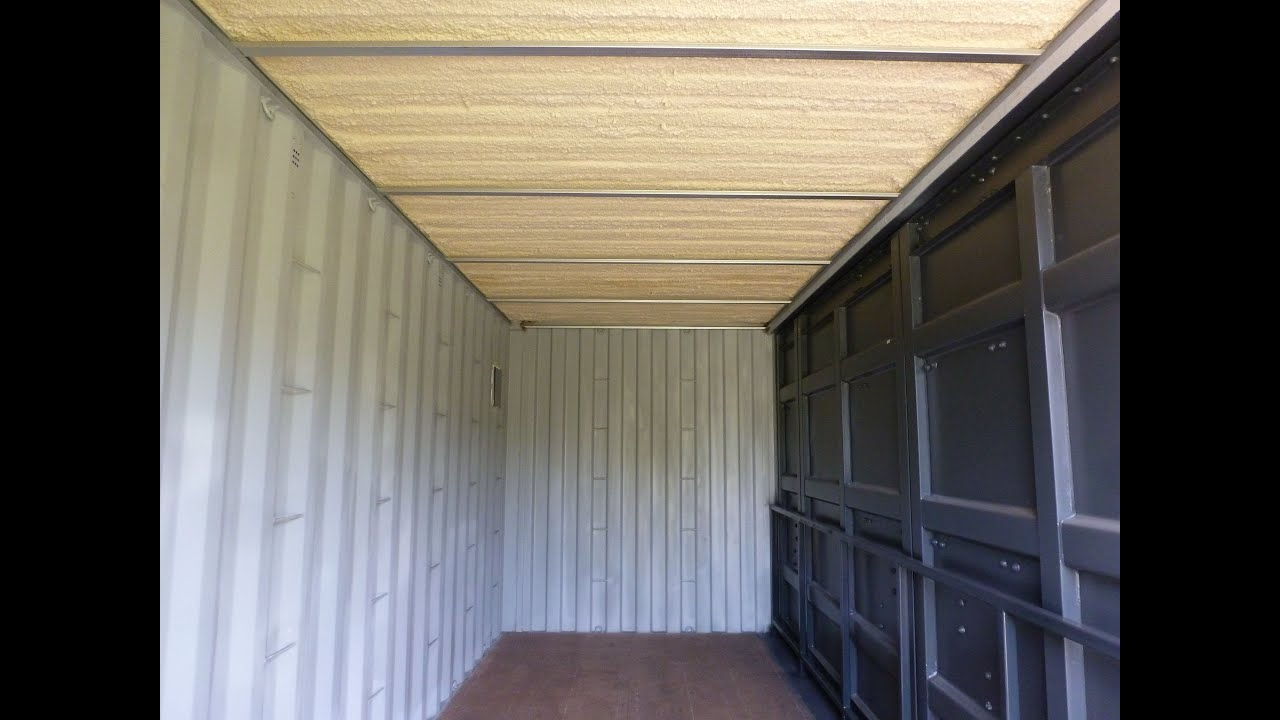 Isolation Plafond Container Maritime Ceiling Insulation Shipping