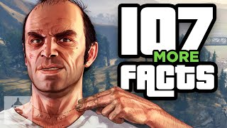 107 MORE GTA V Facts YOU Should Know! | The Leaderboard