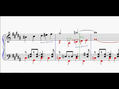 STAR TREK - the original series theme (sheet-music for piano)