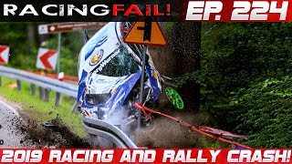 Racing and Rally Crash Compilation 2019 Week 224