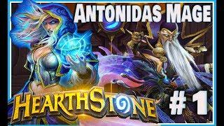 Hearthstone: Antonidas Spell Mage - Yogg Saron (Journey to Un