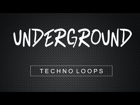 Underground Techno Loops - Techno Loop Pack - Download