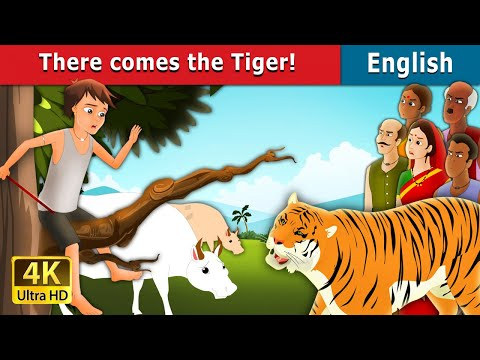 There comes The Tiger Story in English | Fairy Tales | Bedtime Stories | English Fairy Tales