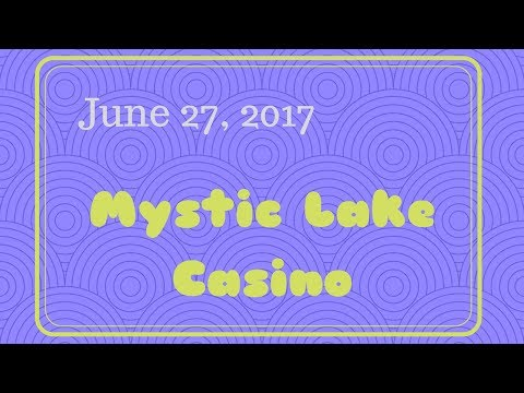 I went to bingo at Mystic Lake Casino