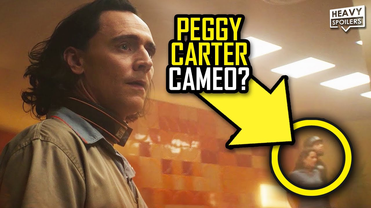 LOKI Episode 1 Easter Eggs Explained: Was That Peggy Carter And New Hidden Details Revealed