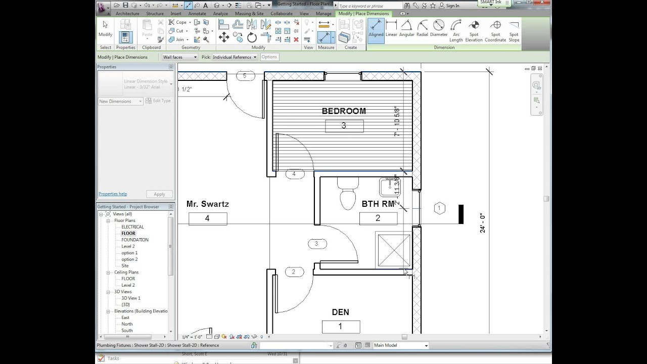 How To Draw A House Plan In Revit 2017