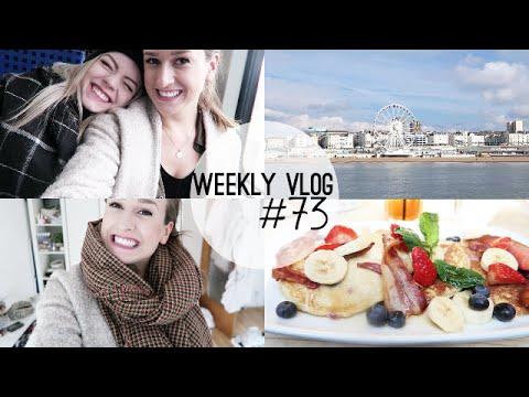 LONDON, BRIGHTON & WIEDERSEHEN IN DÜSSELDORF   Weekly Vlog #73