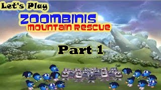 Let's Play Zoombinis Mountain Rescue Part 1 - FEATURING CUTSCENES