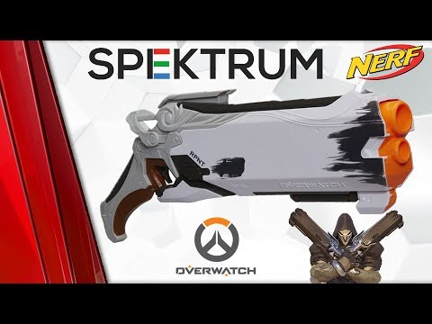 NERF RIVAL OVERWATCH - REAPER - Recenze CZ / SK thumbnail