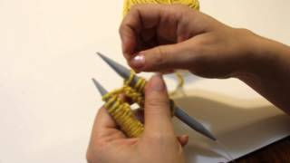 Knitting School - Lesson 3 - How to Hold the Needles and Yarn