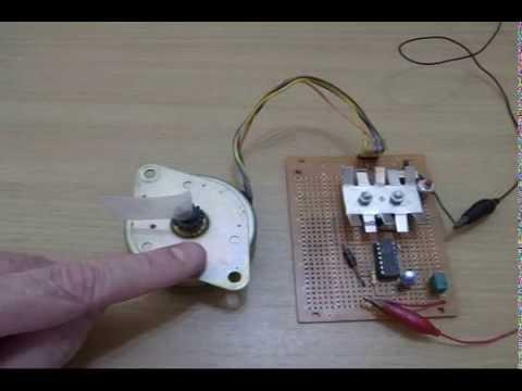 Stepper motor simple diy youtube for Easy stepper motor controller