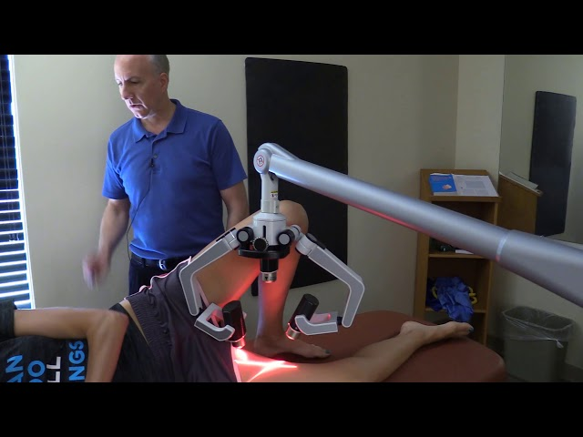 Treating Adductors using Erchonia's FX635 Laser