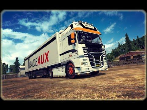 "Euro Truck Simulator 2.  Маршрут ""Rotterdam - Wien"" ETS2 MP"