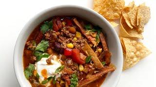 How to Make Taco Soup!