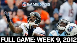 The New Monsters of the Midway Takeover! Bears vs. Titans Week 9, 2012
