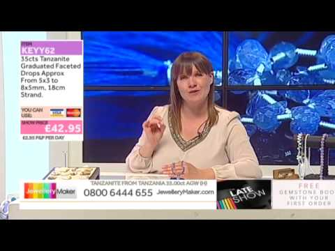 925 Sterling Silver Heart Toggle Clasp on the JewelleryMaker Late Show - 8/7/15