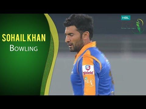 PSL 2017 Match 15: Karachi Kings v Quetta Gladiators -  Sohail Khan Bowling