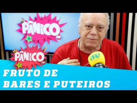 """Tonico Pereira: """"sou fruto de bares e puteiros"""""""