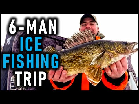 Walleye Ice Fishing Trip   Two Nights On L. Des Mille Lacs