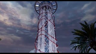 Record du Monde du plus haut manège : Le SkyScraper