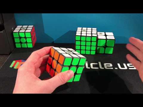 Cubicle Labs Boron Treated Cube Showcase: Gans UM, Wuque M, Dayan 2x2