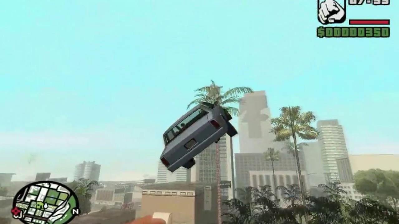 Jemput Pacar Pakai Mobil Terbang - GTA San Andreas Indonesia - YouTube