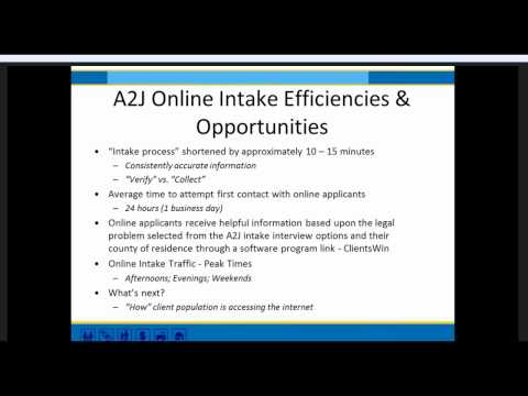 Evaluating Online Intake: What are we learning?