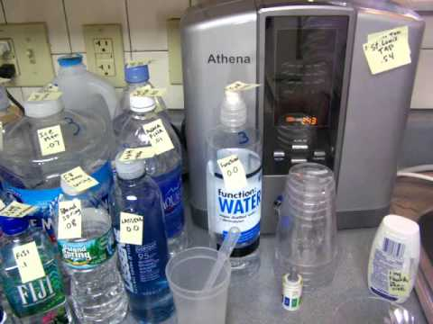 21 Brands Of Bottled Water Vs Ionized Water Tested For