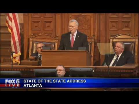 Georgia Governor delivers State of State address