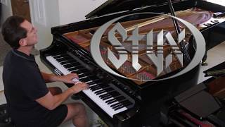 """David Osborne plays Styx's classic song, """"Come Sail Away,"""" with a l..."""