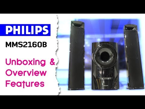 Philips MMS2160B/94 2.1 Channel Multimedia Speaker Unboxing & Overview Features Explained