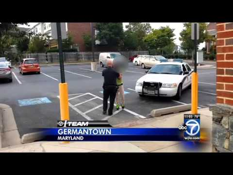 Did Montgomery County Police officer go too far?