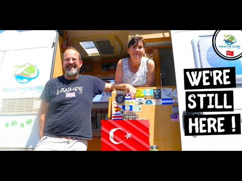 VAN LIFE in 🇹🇷ISTANBUL TURKEY during a pandemic - Around the world drive