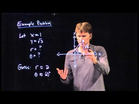 Polar Coordinate System Example