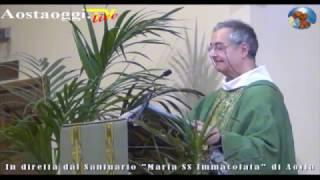 Repeat youtube video Aosta Live Streaming Santa Messa Domenica 19/2/2017 ore 10.30