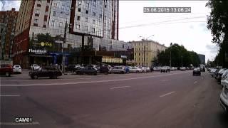 Дневное видео (режим AHD-Н) с уличной AHD камеры на базе модуля 1/2.7